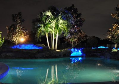 HOA landscape lighting
