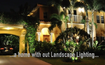 Your Home Without Landscape Lighting…