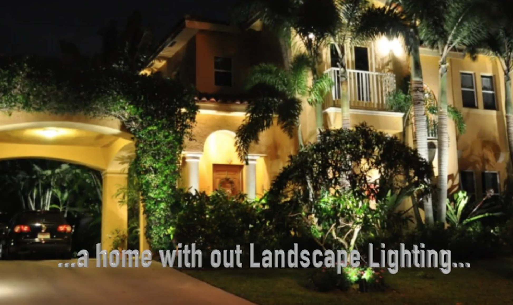 South Florida Palm Beach Low Voltage Outdoor Landscape Lighting by CLA Video