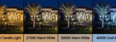 Outdoor Landscape Lighting Color, Kelvins & Lumens